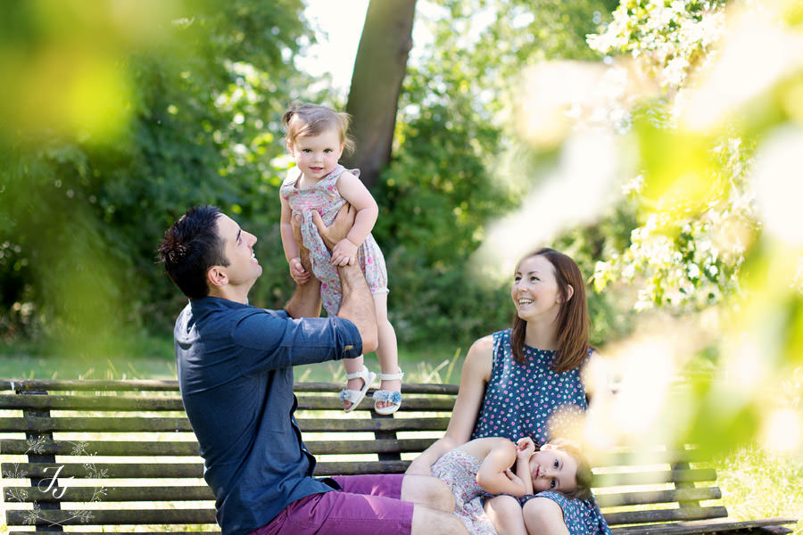 Family Photoshoot on location