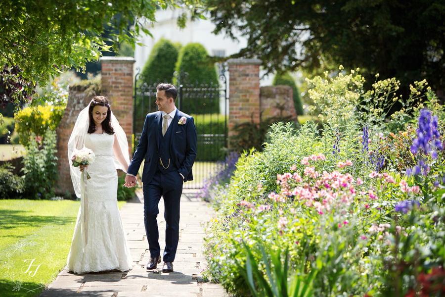 Nina and Chris Blake Hall wedding