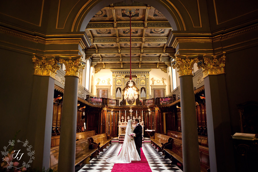 Wedding at the little oratory