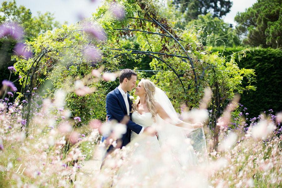 Summer wedding at Gaynes Park
