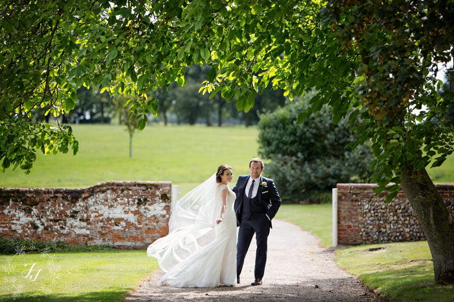 Karli and Joe Spains Hall wedding