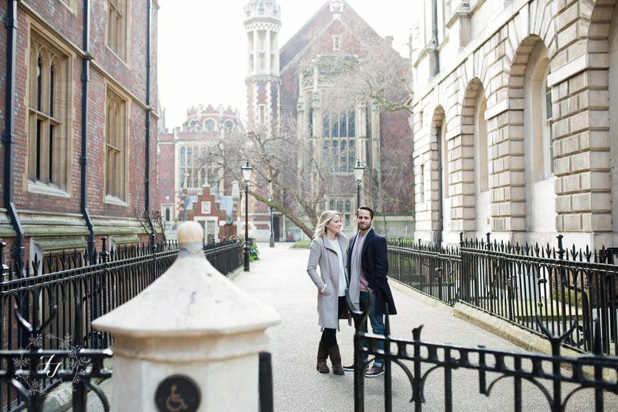 Pre Wedding Photo at Lincolns Inn Newman Row London