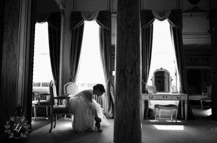 Gosfield Hall bridal suite