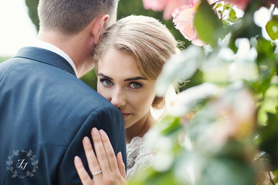 pretty bride at gosfield hall