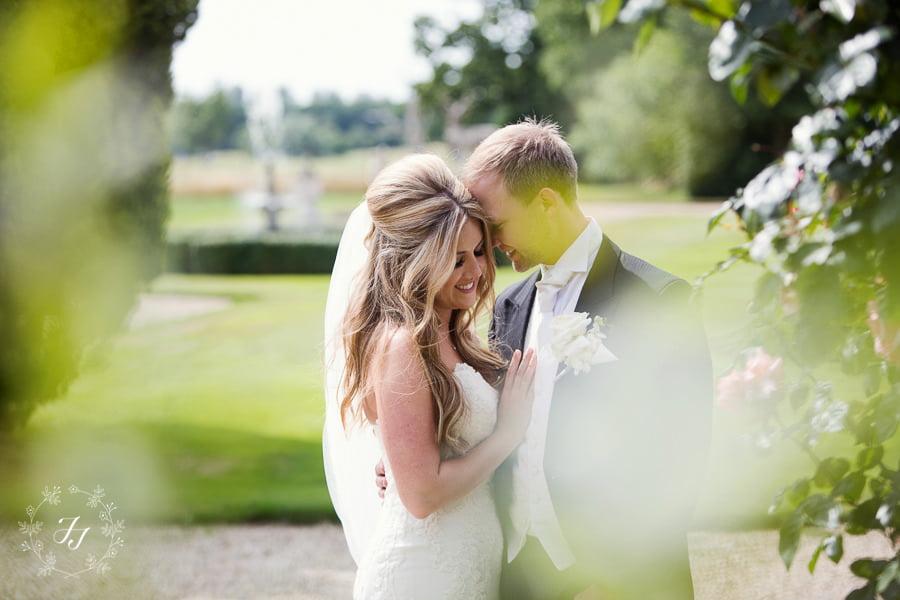 Summer wedding at Gosfield Hall