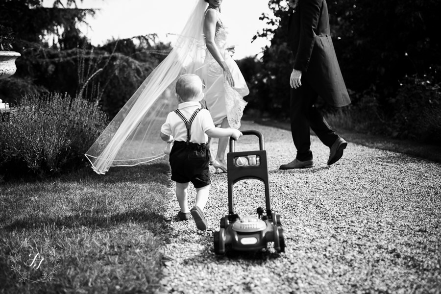 Documentry wedding photography at Layer Marney tower