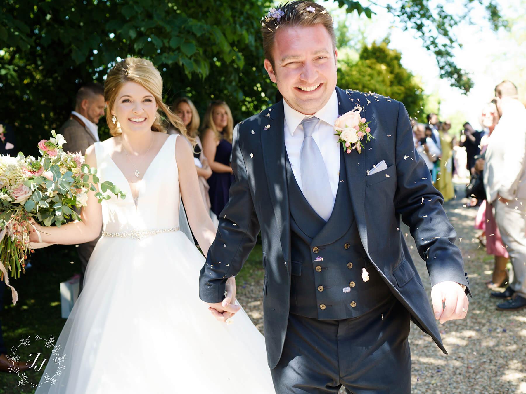 Victoria and Rickys wedding