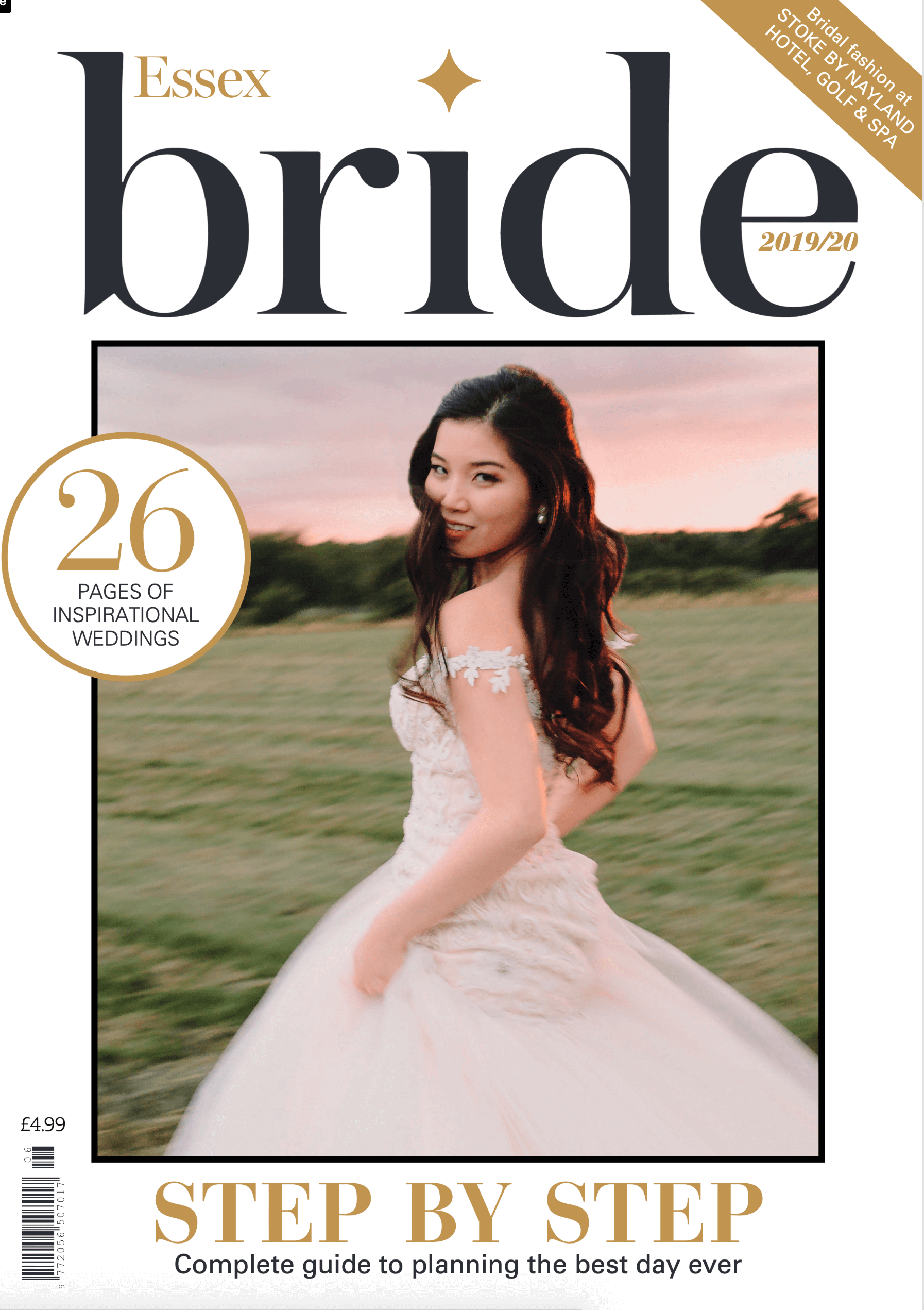 Front cover of Brides Magazine