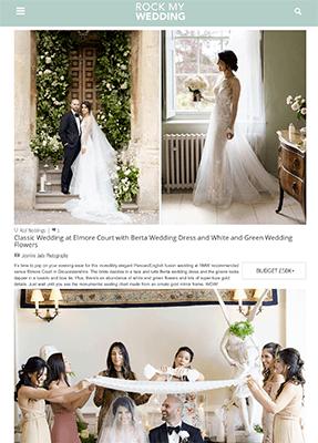 Zeenat and Navid on Rock My wedding blog