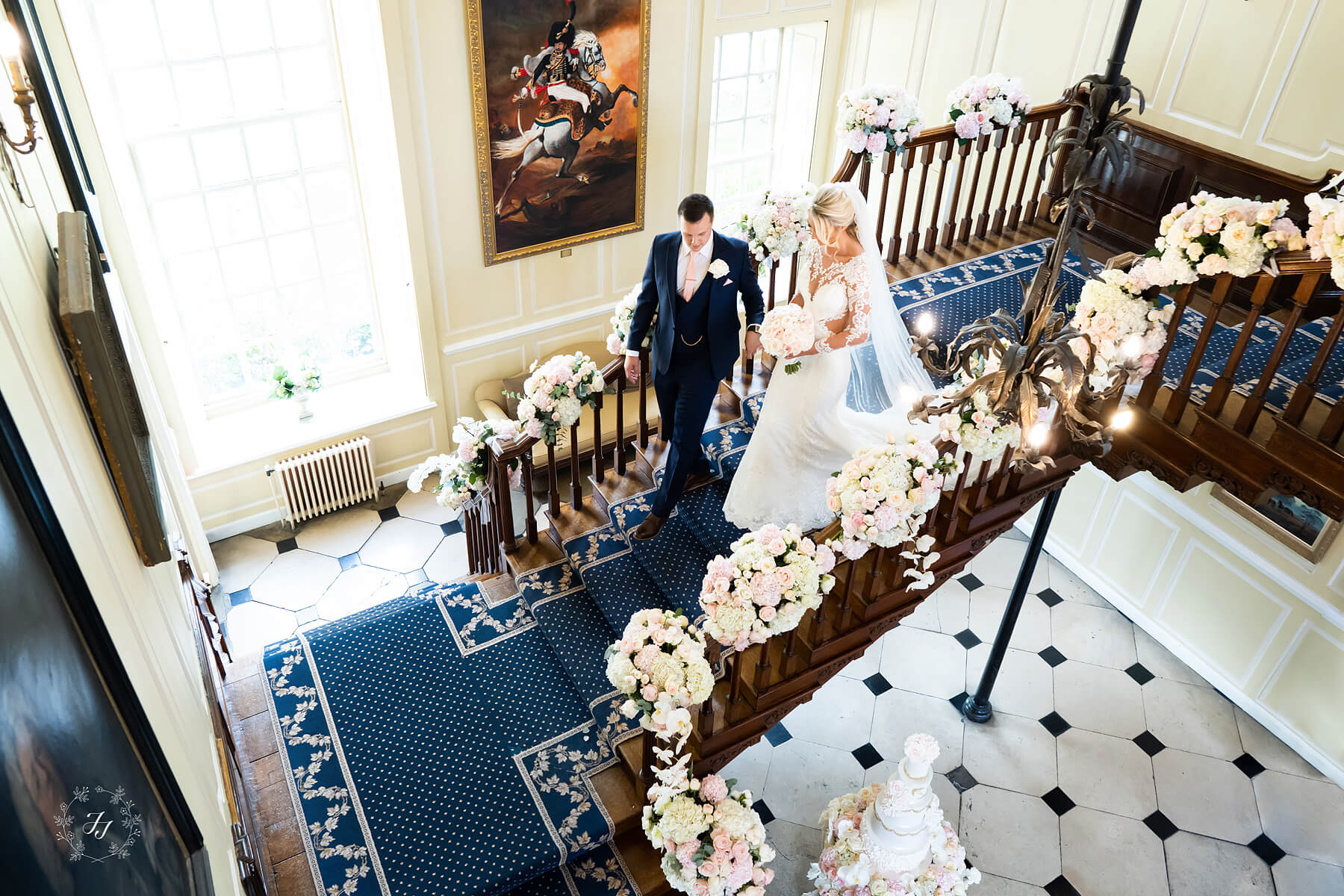 The Main Stairs – Flowers By Jades